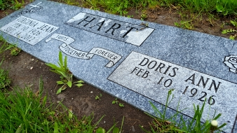 Doris Hart , Leanne's Grandmother. RIP