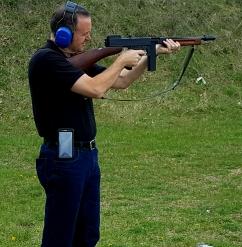 Enjoyed shooting the Thompson Machine Gun
