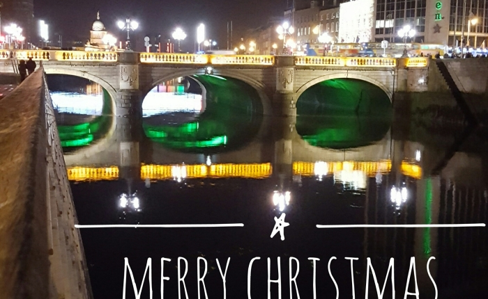 Happy Christmas from Dublin