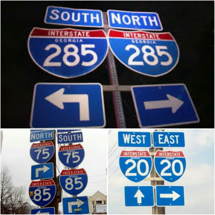 North and South, or Left and Right – How to give directions!